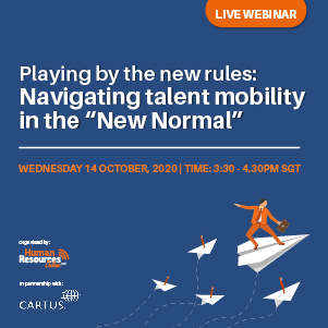 "Webinar: Playing by the new rules: Navigating talent mobility in the ""New Normal"""